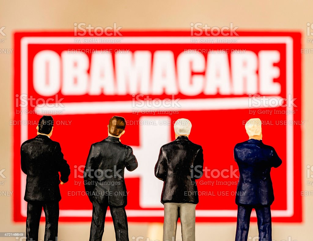 Obamacare: Is it For Us? stock photo