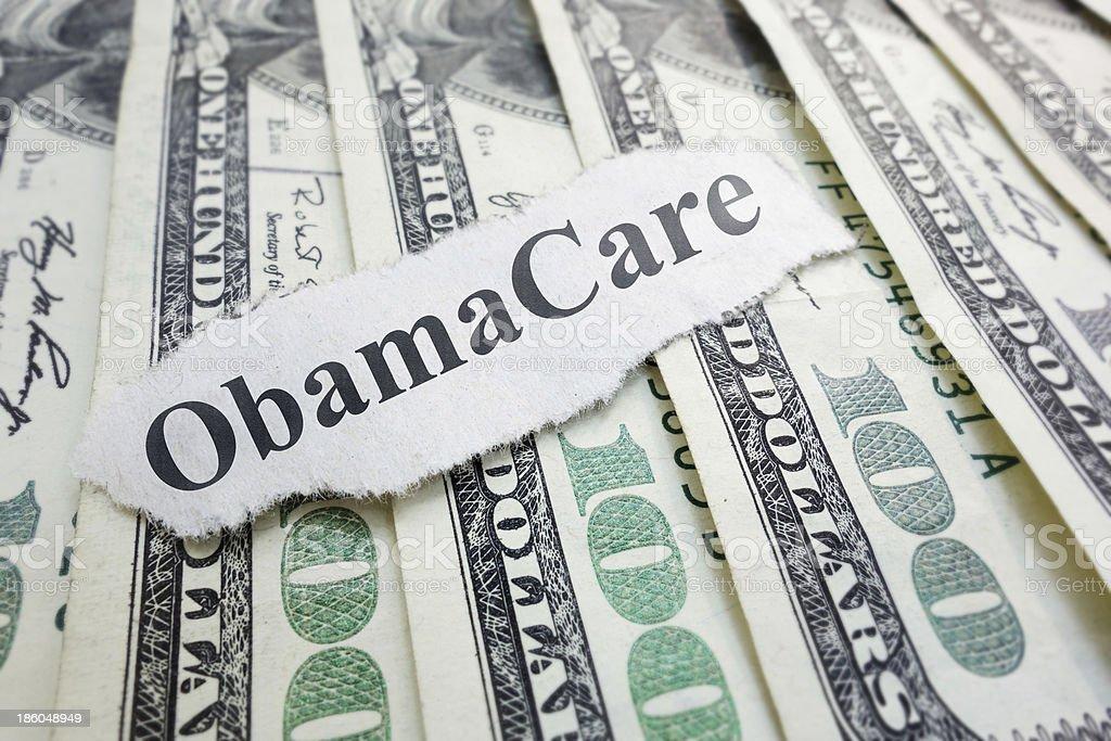 Obamacare royalty-free stock photo