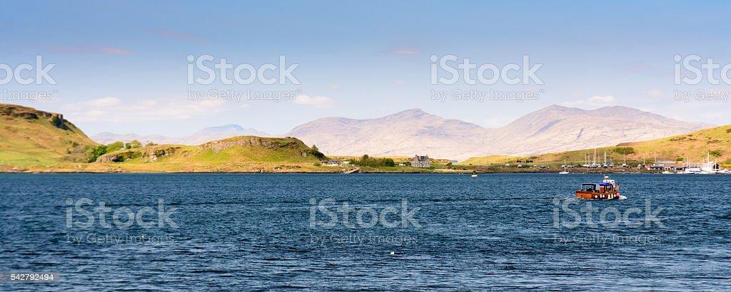 Oban Bay stock photo