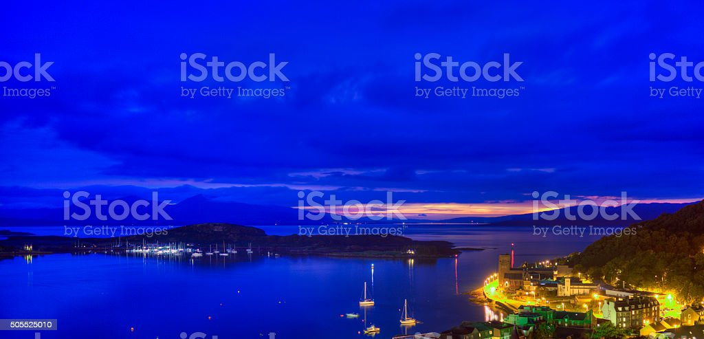 Oban, the city of your dreams royalty-free stock photo