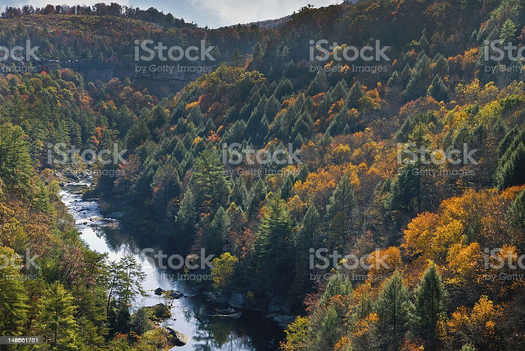 Obed Wild and Scenic River stock photo