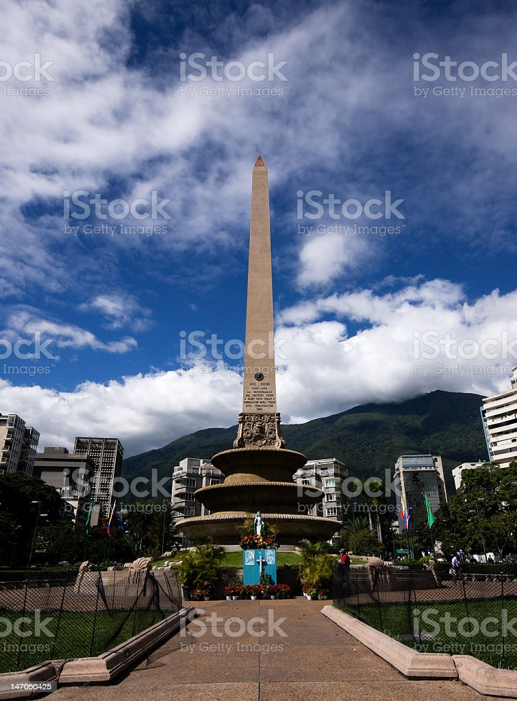 Obelisco - Obelisk stock photo