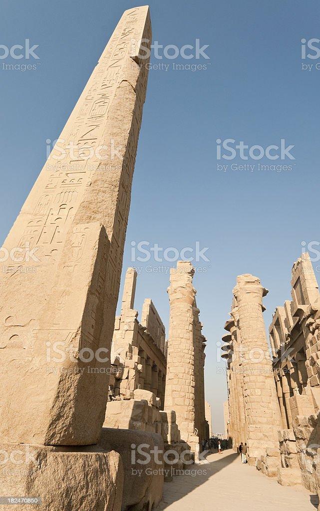 Obelisk of Hatshepsut stock photo