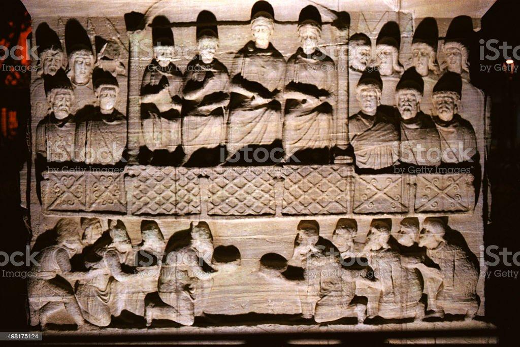 Obelisk of Theodosius, Istanbul, Turkey. stock photo