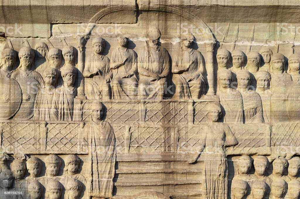 Obelisk of Theodosius stock photo
