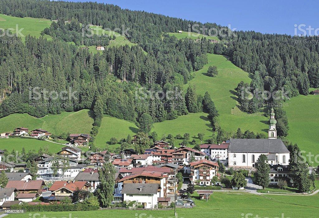 Oberau,Wildschonau Valley,Tirol,Austria royalty-free stock photo
