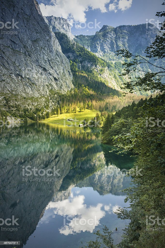 Obersee, Berchtesgaden stock photo