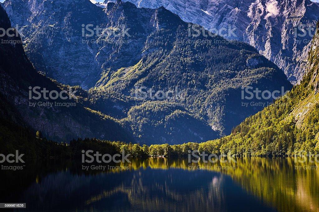 Obersee stock photo