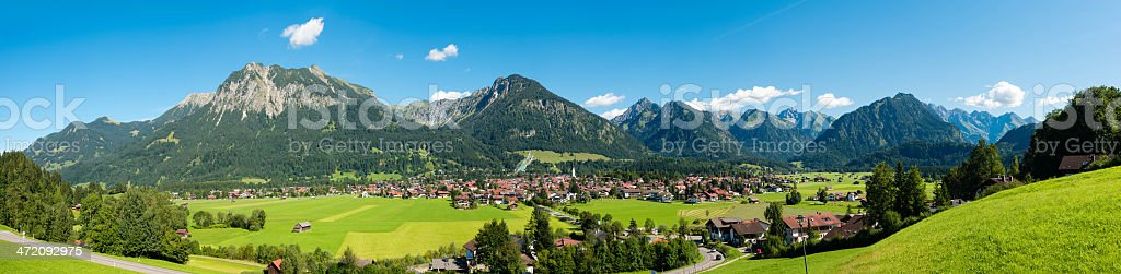 Oberstdorf stock photo