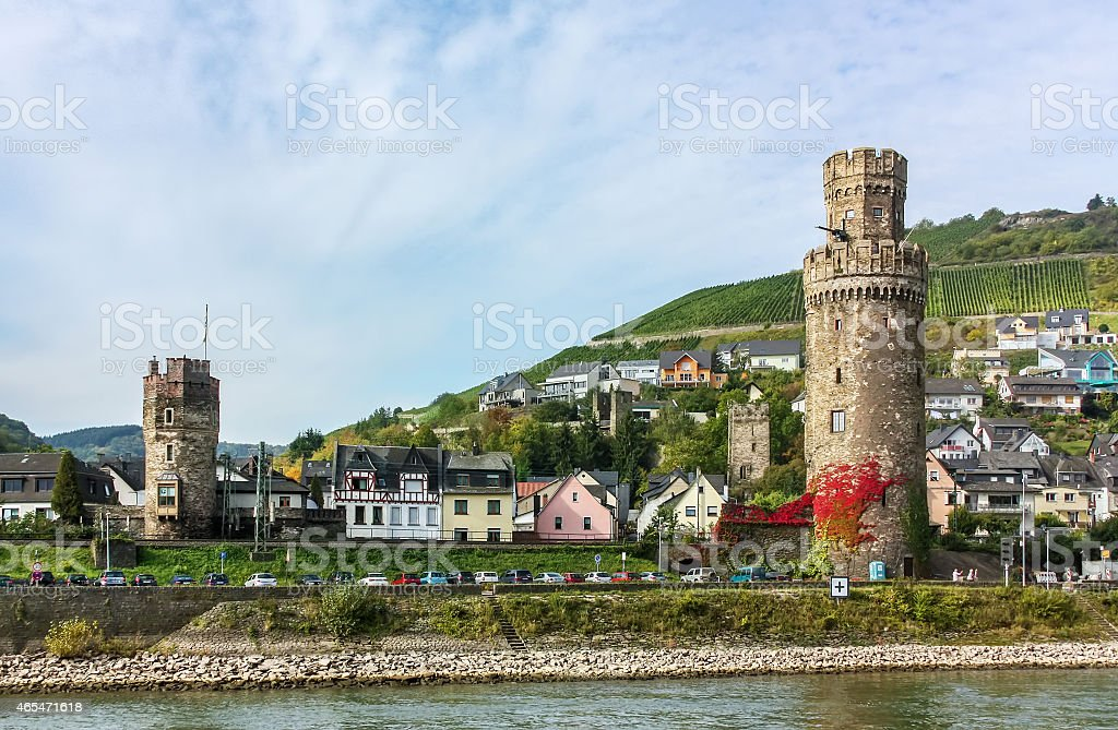Oberwesel, Germany stock photo