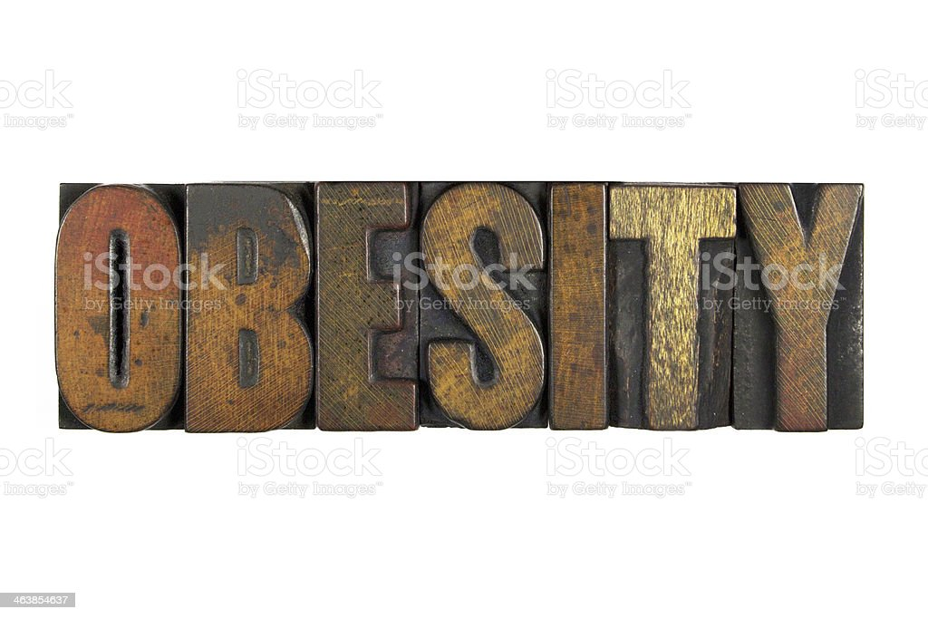 Obesity stock photo