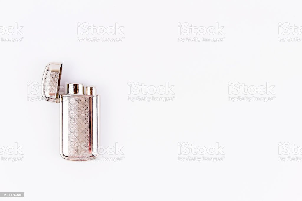 Object photography of a lighter stock photo