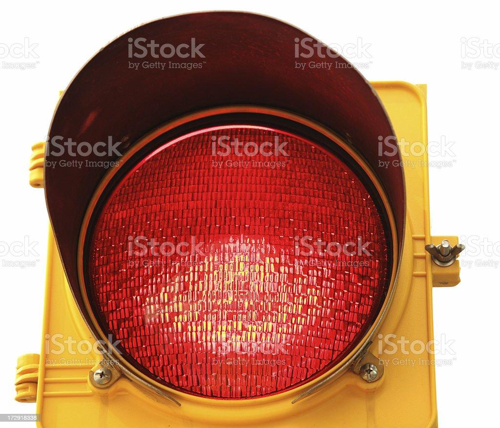 Object White Background Traffic Light Series stock photo