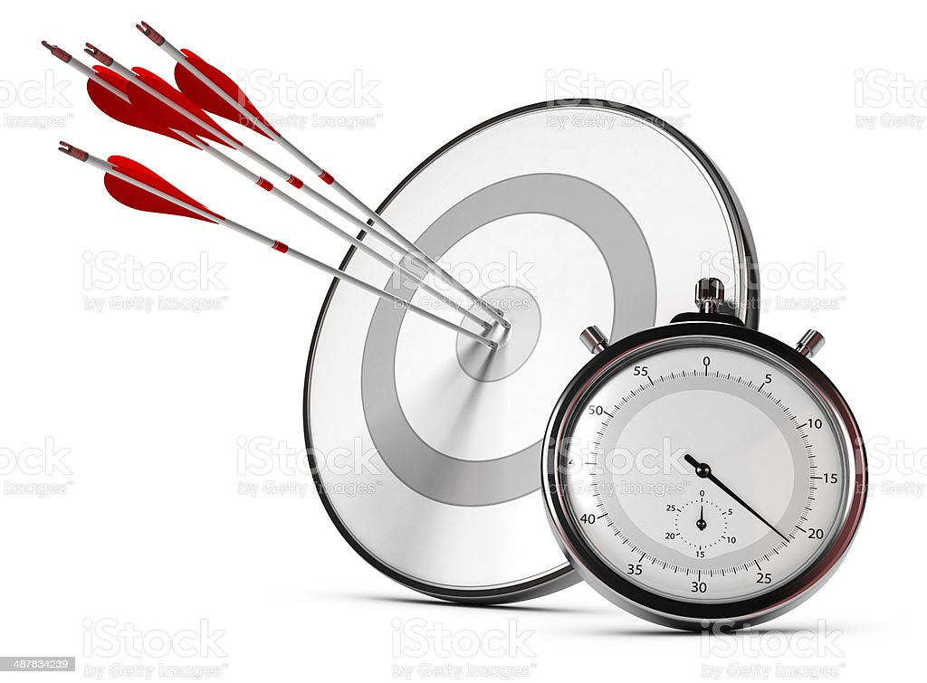 SMART Objective or Goals Concept stock photo
