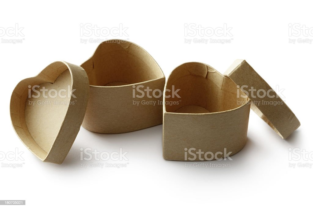 Objects: Boxes royalty-free stock photo