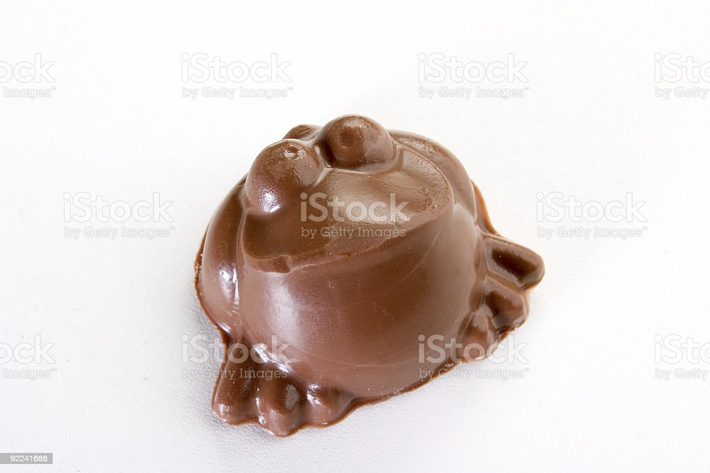 Objects - Chocolate Frog stock photo