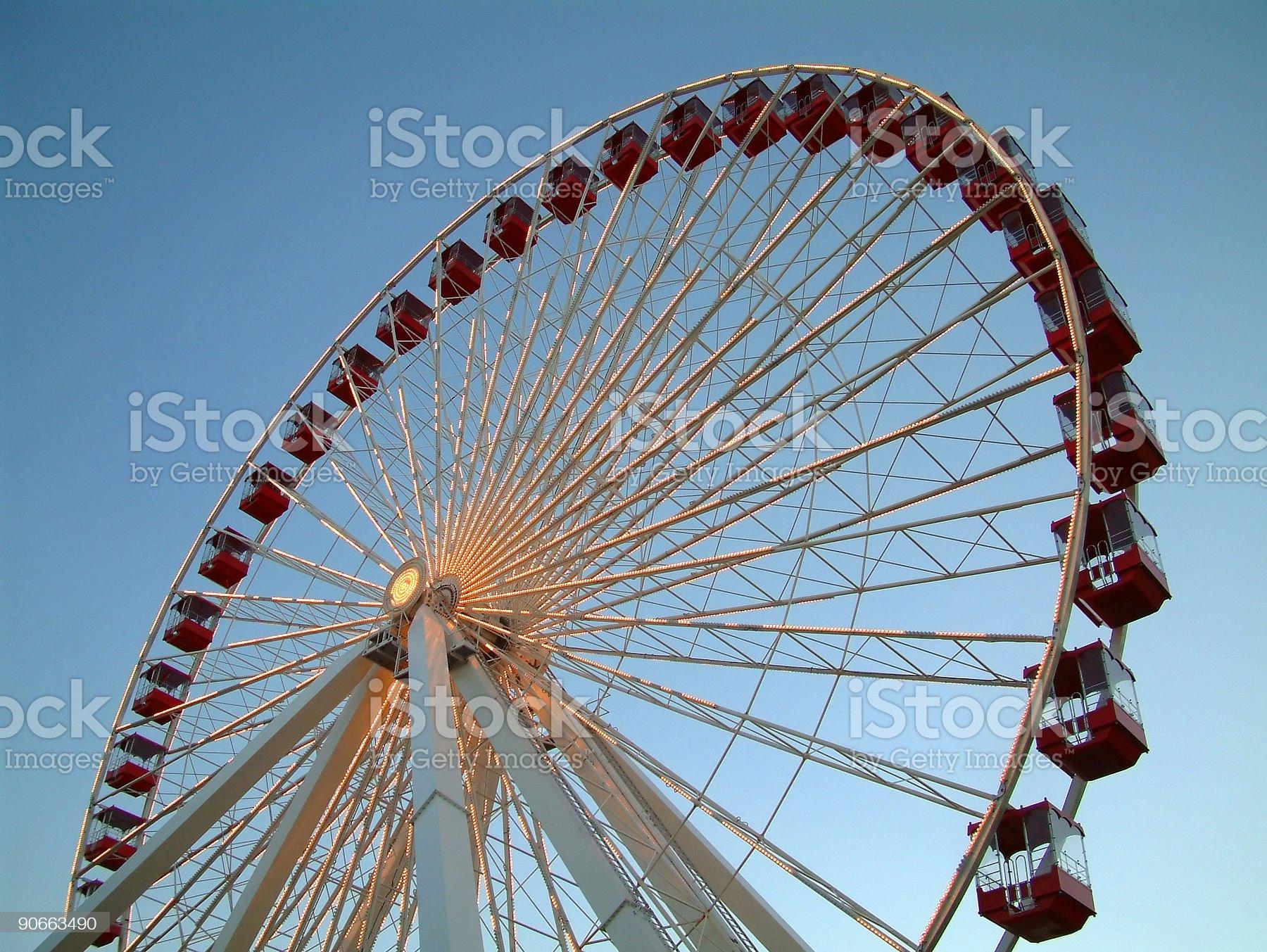 Objects - Ferris Wheel royalty-free stock photo
