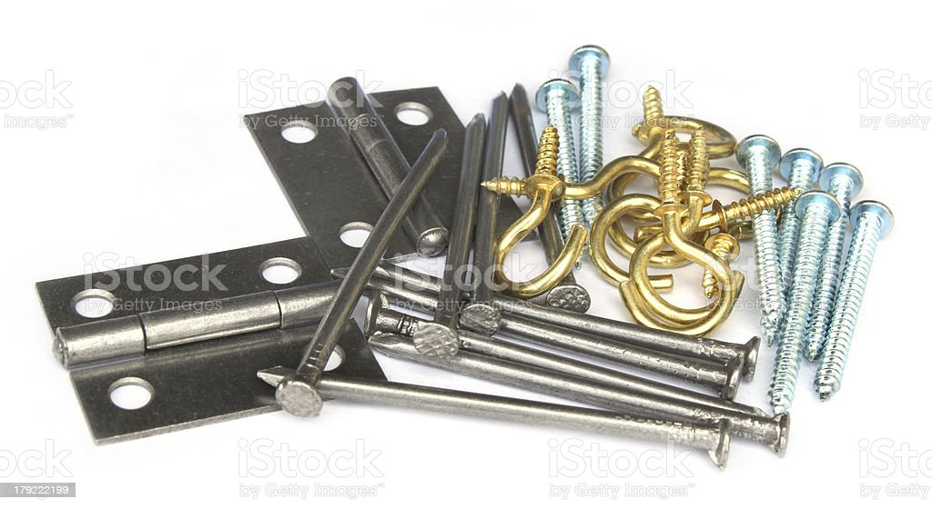Objects for interior construction stock photo