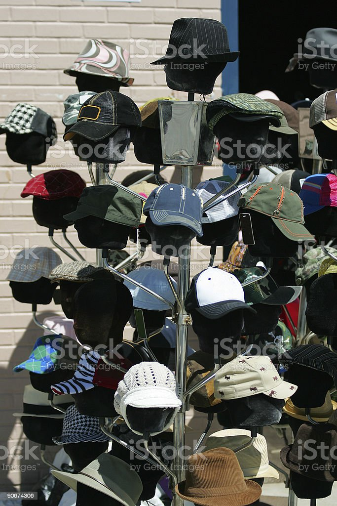 Objects - Hat Rack royalty-free stock photo