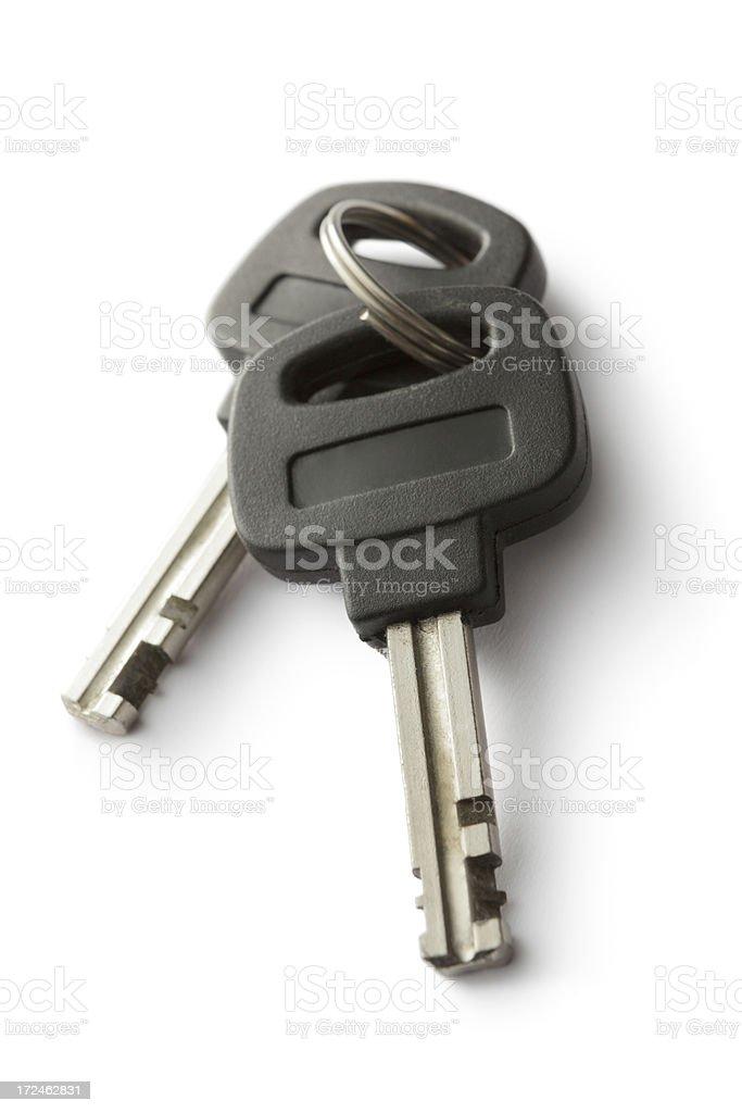 Objects: Keys royalty-free stock photo