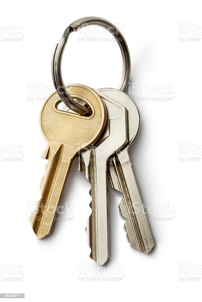 Objects: Keys royalty-free stock photo