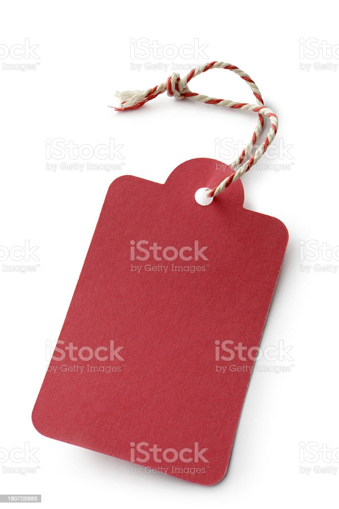 Objects: Label royalty-free stock photo