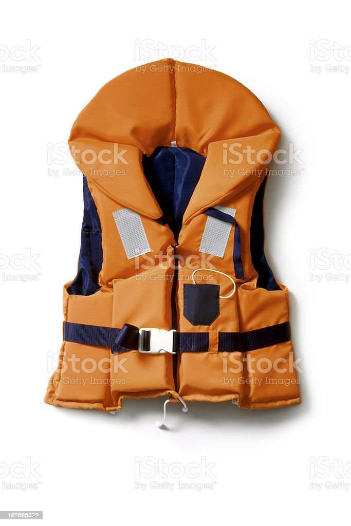 Objects: Life Vest royalty-free stock photo