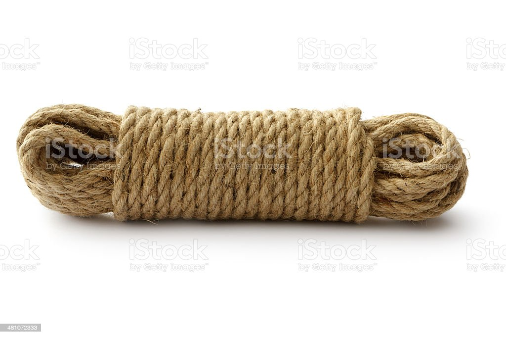 Objects: Rope royalty-free stock photo
