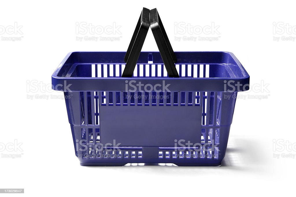 Objects: Shopping Basket stock photo