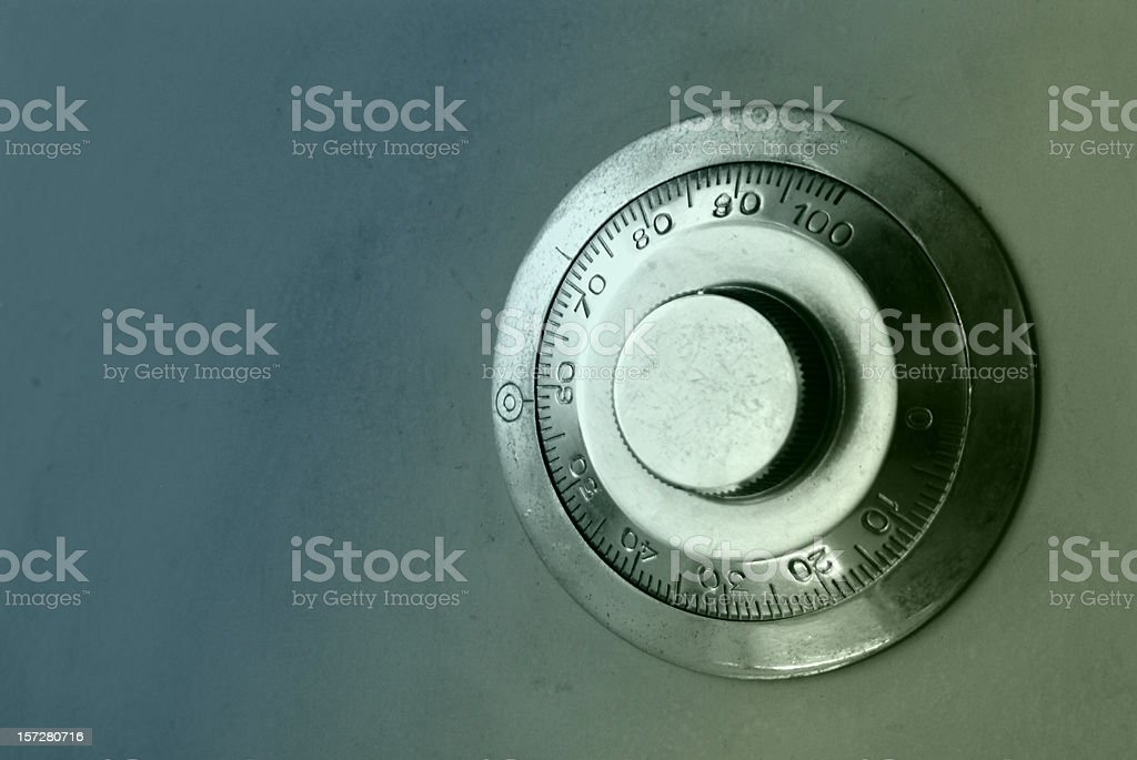objects: strongbox detail stock photo