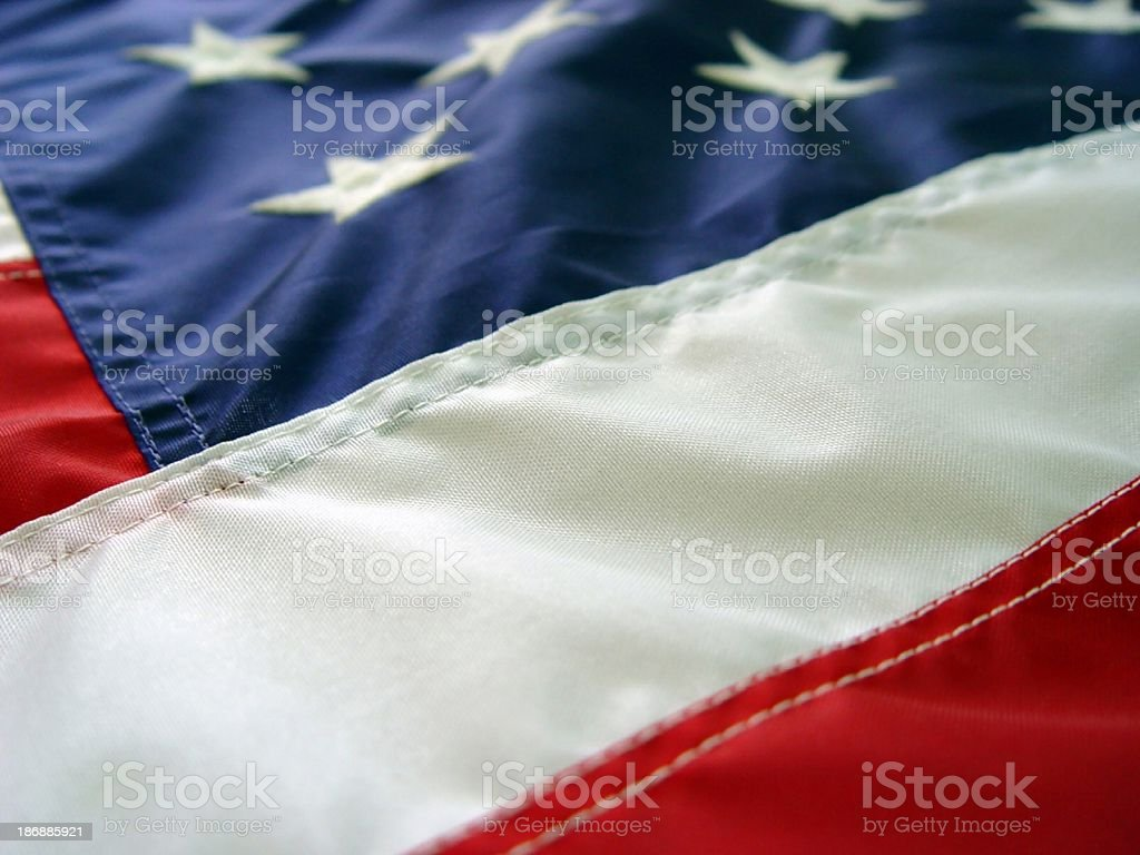 objects  - US Flag stock photo