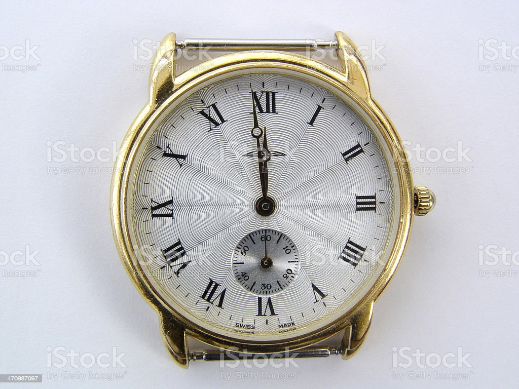 Objects - Watch stock photo