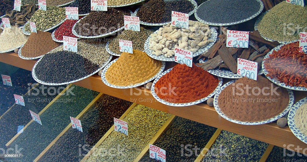 Objects - Window Spice royalty-free stock photo