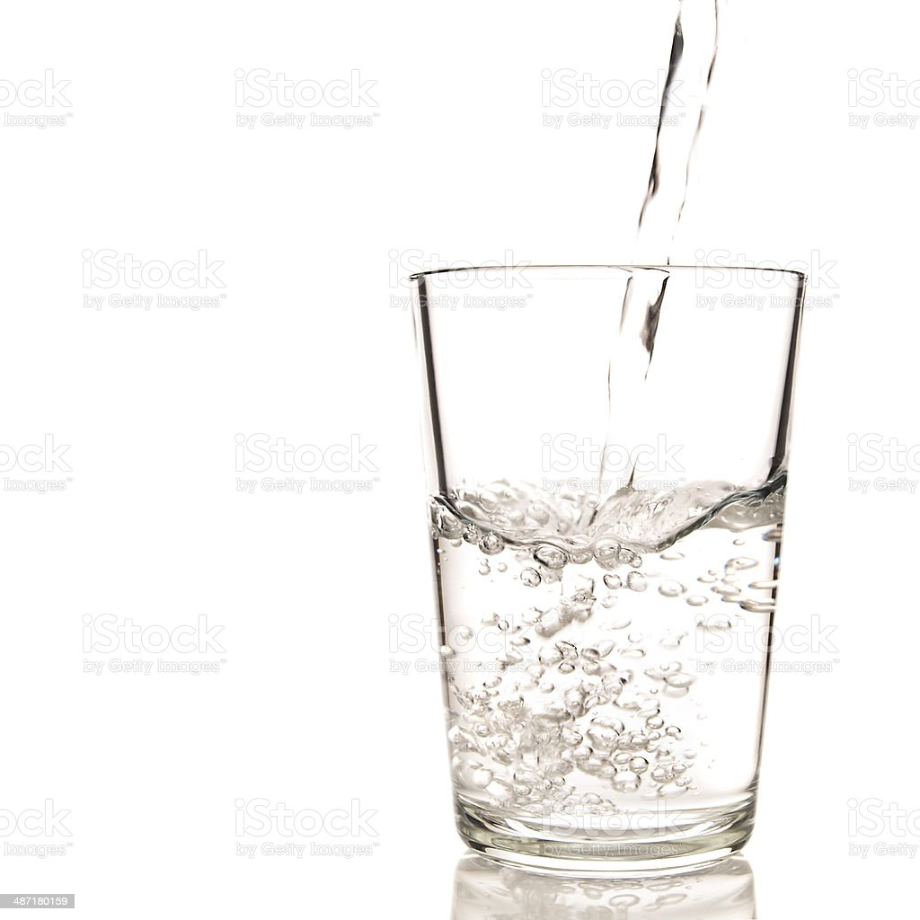 Objets: Glass of water royalty-free stock photo