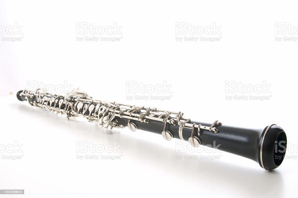 Oboe stock photo
