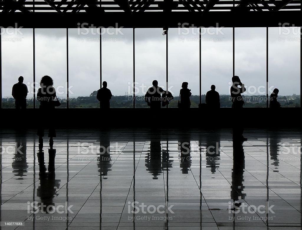 Observation deck - 1 stock photo