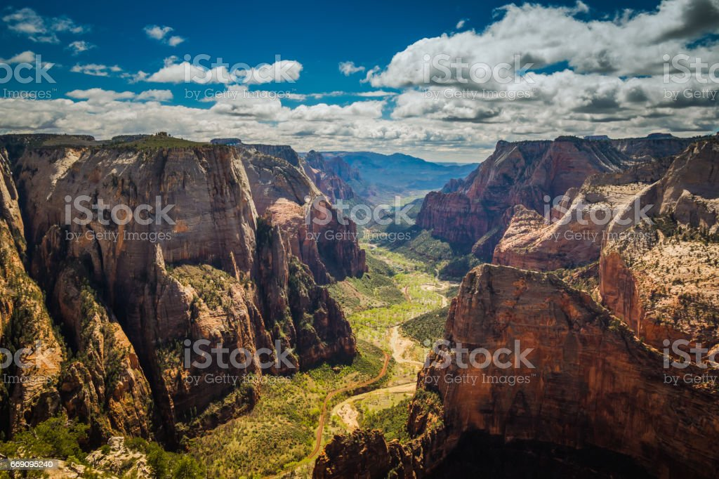 Observation Point stock photo