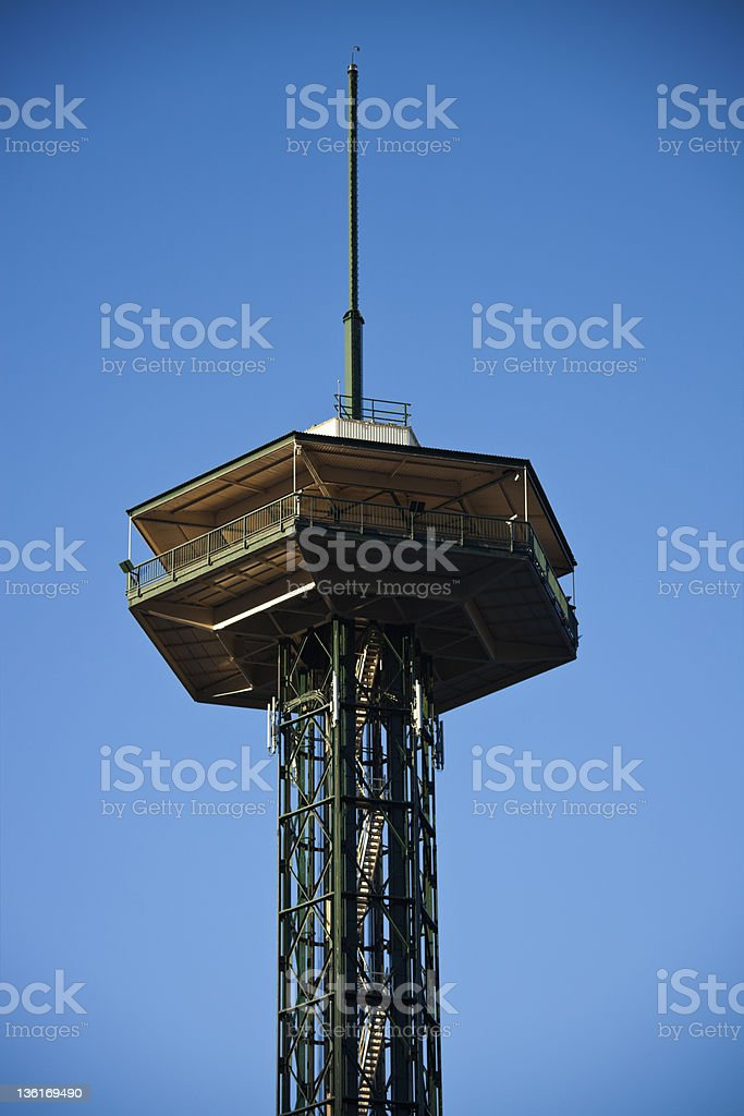 Observation Tower in Gatlinburg royalty-free stock photo