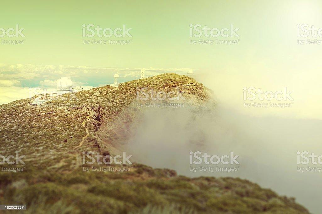 Observatorio, La Palma royalty-free stock photo