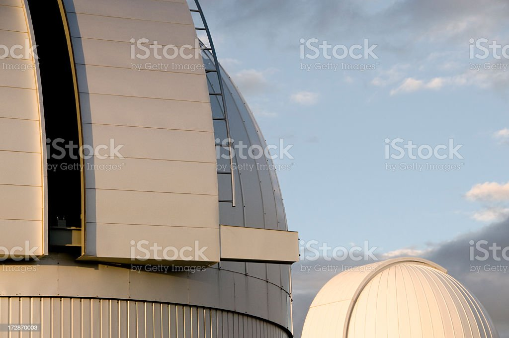 Observatory Abstract royalty-free stock photo
