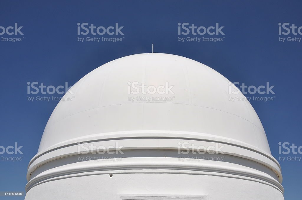 Observatory Dome stock photo