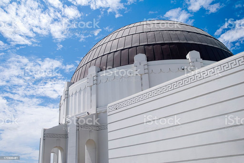 Observatory in the sky royalty-free stock photo