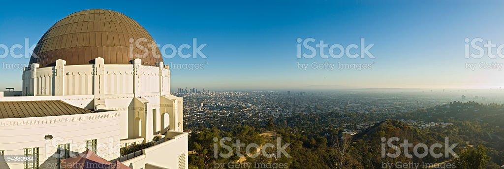 Observatory, Los Angeles royalty-free stock photo