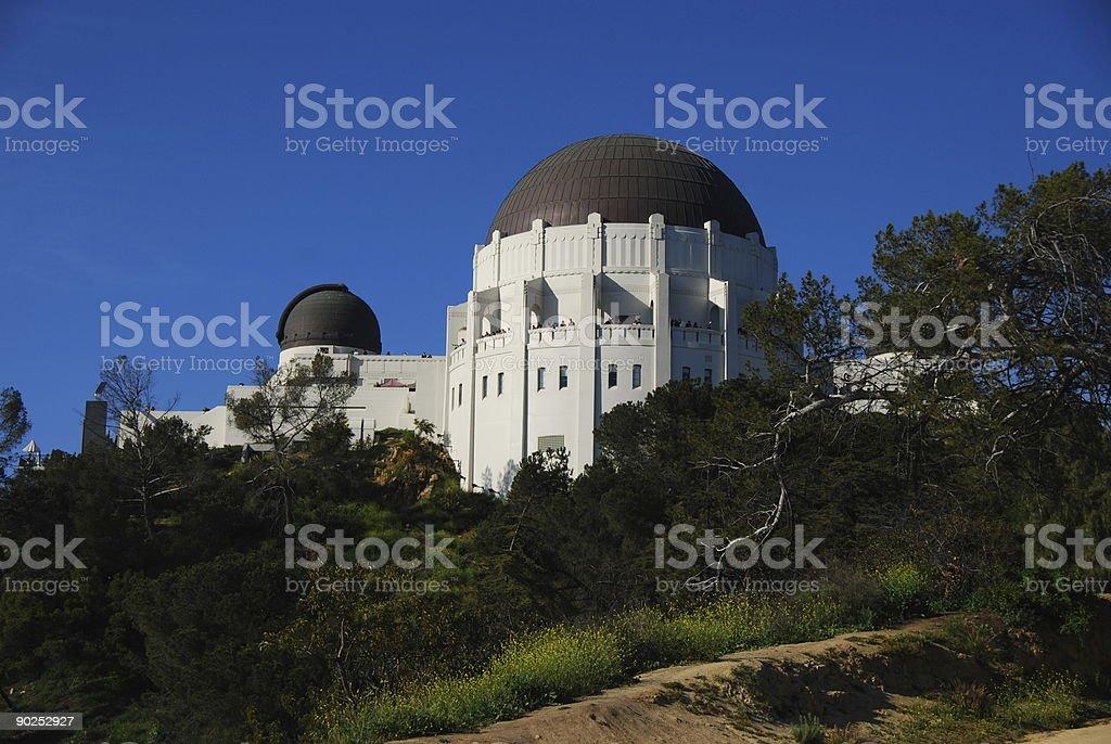 Observatory stock photo