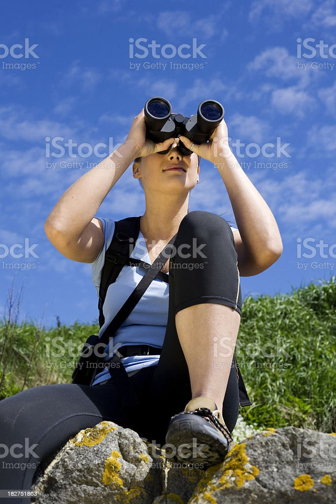 Observing landscapes royalty-free stock photo