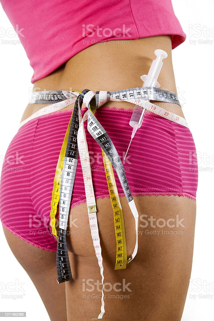 Obsession of dieting royalty-free stock photo