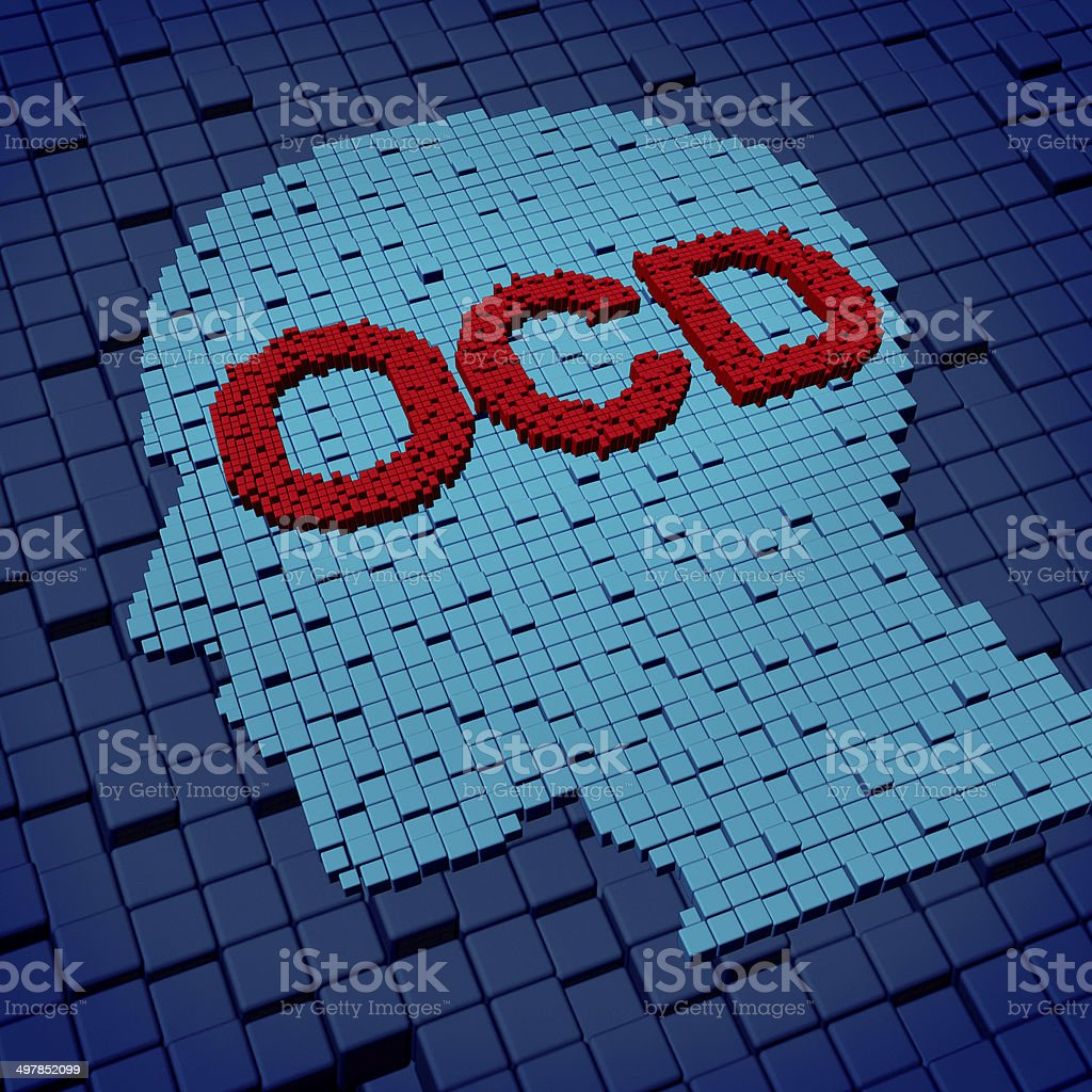 Obsessive Compulsive Disorder stock photo