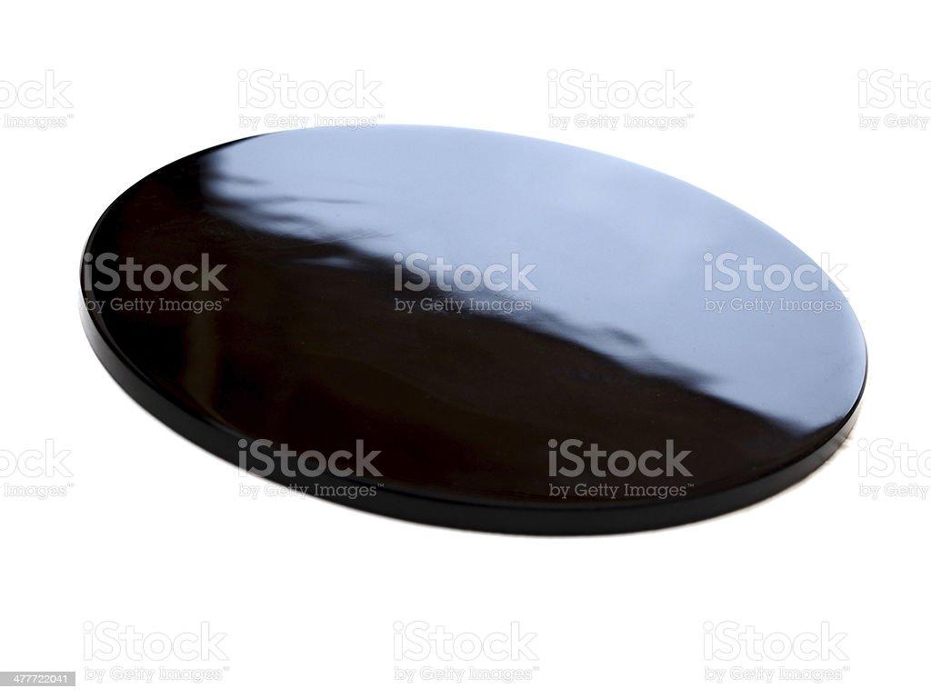 Obsidian Mirror stock photo