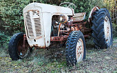 Obsolete and Rusting Tractor