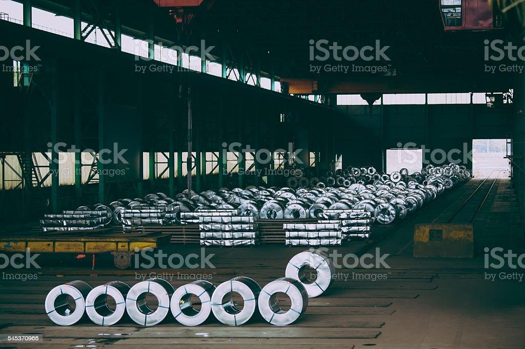 Obsolete warehouse stock photo